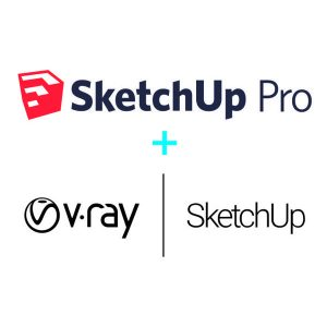 Sketchup Pro 2021 + V-ray 5 for SketchUp Bundle