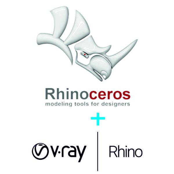 Rhino for Windows + V-ray NEXT pentru Rhino
