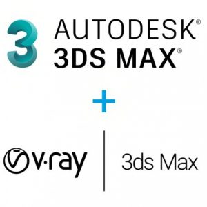 3ds Max 2021 + V-ray 5 for 3ds MAX Bundle